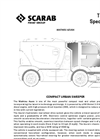 Scarab Azura - 4.5 Tonne GVW - Compact Sweeper Technical Specification