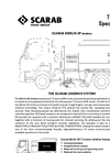 Scarab Merlin XP Unidrive Technical Specification
