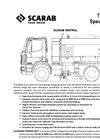 Scarab - 12 - 18 tonne GVW - Twin Engine Mistral Roadsweeper Technical Specification