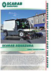 Aquazura - 4.5 Tonne - Eco Friendly Scrubbing Drying Vehicle – Brochure