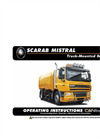 Scarab - GVW 12 to 18* Tonne - Twin Engine Mistral Road Sweeper – Manual