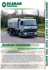 Scarab - 18* Tonne + - The Magnum Plus Road Sweeper Single Engine Technology – Brochure