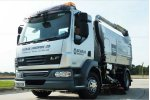 Scarab Magnum - 13 to 18* Tonne Chassis - Roadsweeper for Single‐Engine Hydrostatic Drive System