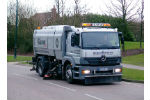 Scarab Magnum Plus - Model 18* Tonne + - Single Engine Heavy-Duty Street Sweepers