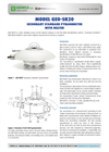Geonica - Model GEO-SR20 - Secondary Standard Pyranometer With Heater - Brochure
