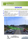Geonica DataCar - Road Traffic Monitoring System - Brochure