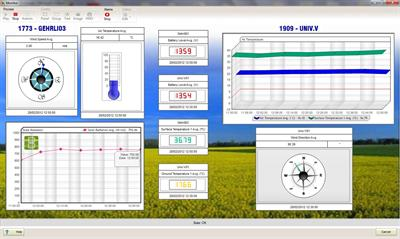 Geonica - Version DATAGRAPH-W4K - Programming & Data Management Software