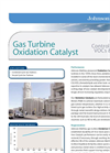 Gas Turbine Oxidation Catalyst