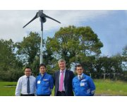 Kingspan Small Wind at Tokyo's Wind Expo 2017