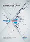Pumpstor – Complete Waste Water And Surface Water Pumping Solutions Brochure