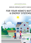 Service, Repair & Safety Checks for Yourhome's Water & Energy Systems Brochure