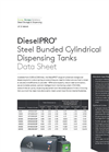 DieselPRO Steel Bunded Rectangular Dispensing Tanks - Datasheet
