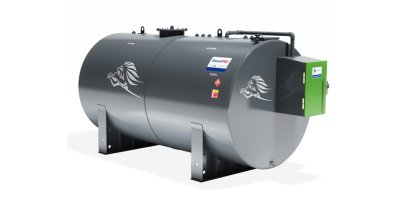 Model 10000L - Bunded Cylindrical Steel Storage Tank