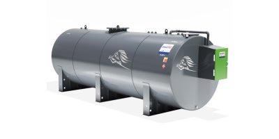 Model 15000L - Bunded Cylindrical Steel Storage Tank