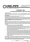 Sewer Sealer Pipe Data Sheet