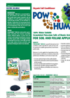 Powhumus - WSG 85 - Organic Soil Conditioner Brochure