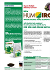 Humiron - Mix WSP - Organic Multiple Deficiency Corrector Brochure