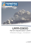 Raymetrics - Model LR111-D300 - Raman Depolarization LIDAR for Meteorological Applications Brochure
