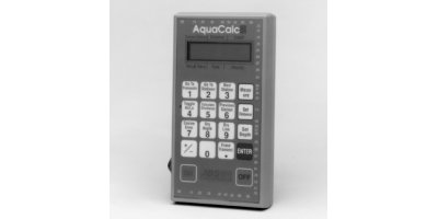 AquaCalc - Model 5000 - Open Channel Flow Computer