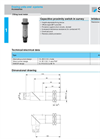 Capacitive Proximity Switch Brochure