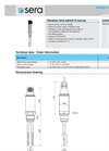 Vibration Limit Switch Brochure