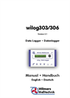 wilog - Model 303/306 - Data Logger  - Manual