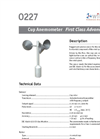 Model 0227 - Cup Anemometer - Brochure