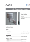 Model 0431 - Air Temperature Sensor - Brochure