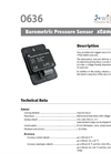 Model 0636 - Barometric Pressure Sensor- Brochure