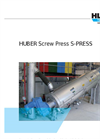 Model S-PRESS - Screw Press- Brochure