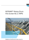 ROTAMAT - Model Ro2 / RPPS / STAR - Rotary Drum Fine Screen / Perforated Plate Screen- Brochure