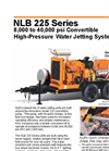 225 Series Diesel High Pressure Water Jetting Unit