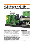 40330D High Pressure Water Jetting Unit