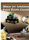 Water Jet Solutions for Paint Booth Cleaning Brochure