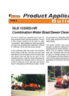 Combination Water Blast and Sewer Cleaning Unit Brochure