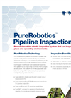 PureRobotics - Robotic Pipeline Inspection System Brochure