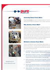 Condition Assessment of Sewer Force Mains Brochure