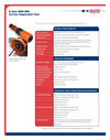 8 inch XHR MFL - In-Line Inspection Tool Datasheet