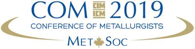 Eco-Tec is attending the Conference of Metallurgists (COM 2019)
