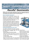 Recoflo - Water Demineralizer Brochure