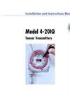 Model 4-20 IQ - Microprocessor Based Intelligent Sensor Transmitter Manual