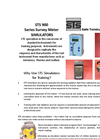 STS - Model 900 Series Survey Meter Simulators - Brochure
