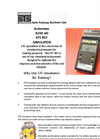 STS 907 Simulated Automess AD6150 Ionising Radiation Survey Meter.pub