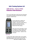 STS - Model Safe-Series - Thermo FH40G - Radiation Field Simulator - Brochure