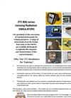 Contamination Simulation - Brochure