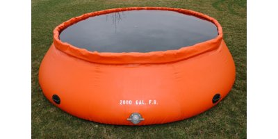 Model Type B - Self-Supporting Frameless Portable Water Tank (Onion Style) Low Side
