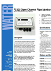 FC220 - Open Channel Flow Monitor – Brochure
