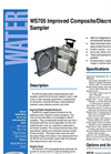 WS705 - Improved Composite–Discrete Water Sampler – Brochure