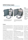 WS700 - Composite–Discrete Water Sampler – Brochure