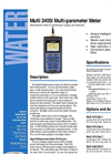 Multi 3410 - Digital Multiparameter Meters – Brochure